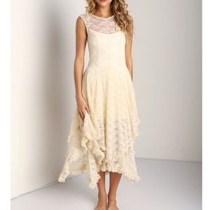 🆕 Free People French Courtship Lace Slip Dress